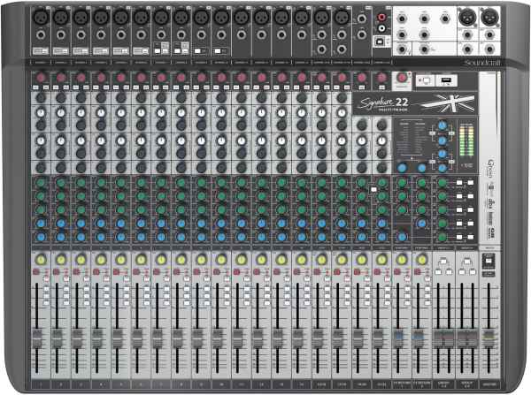 Signature 22 MTK mit PC-Recording Funktion