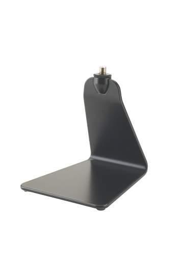 Design Mikrofon-Tischstativ schwarz