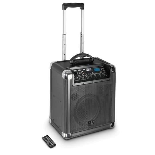 Roadjack 10 Akku Lautsprecher Bluetooth-Lautsprecher mit Mixer
