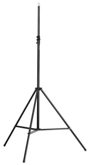 Overhead-Mikrofonstativ schwarz
