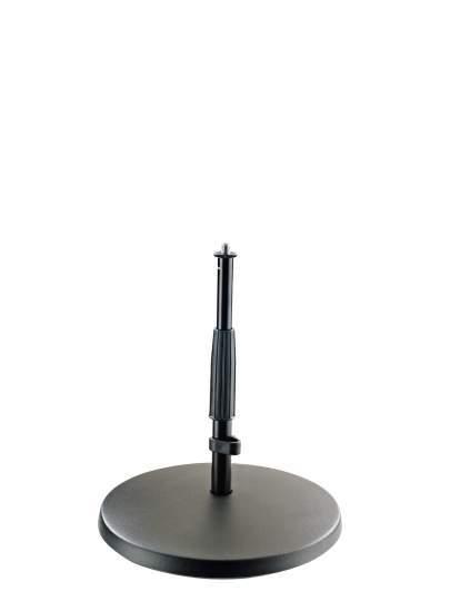 23320 Mikrofonstativ Niedriges Stativ mit schwerem Gusssockel