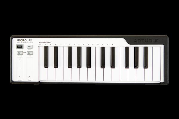MicroLab Black USB Keyboard 25 Slimkeys