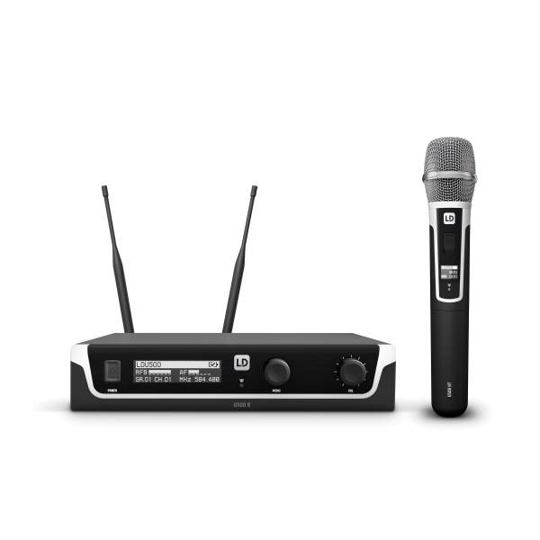 U506 HHC Funkmikrofon System mit Handmikrofon Kondensator