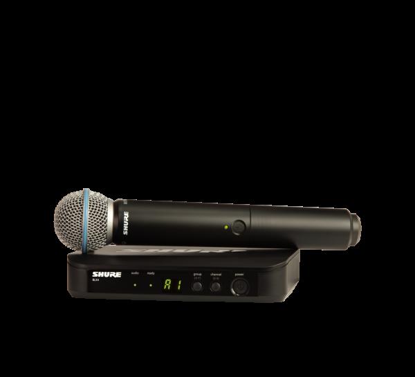 BLX24RE/Beta58 H8E Vocal-Funksystem