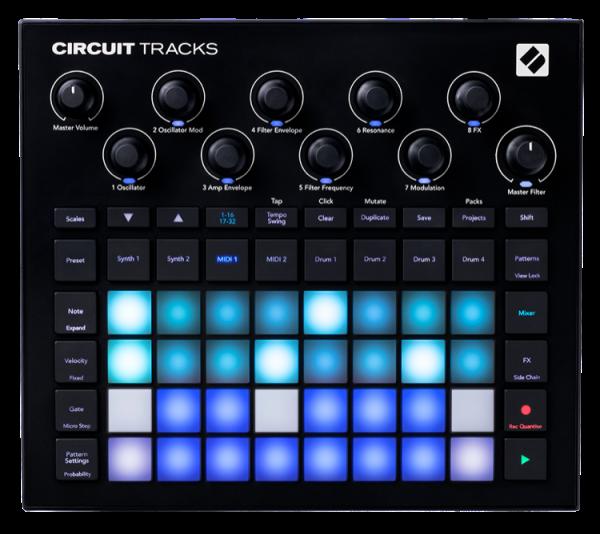Circuit Tracks Groovebox
