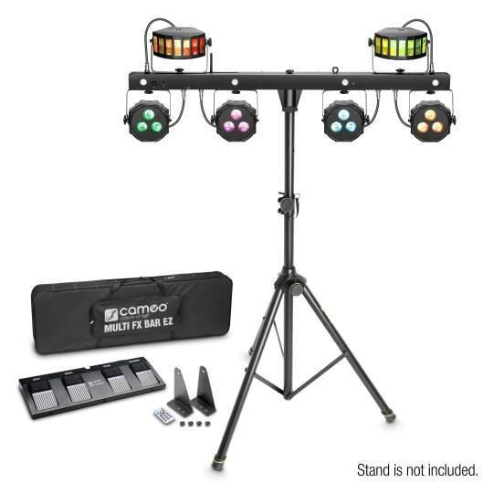 MULTI FX BAR EZ Lichtanlage mit 3 Lichteffekten für mobile DJs und Bands