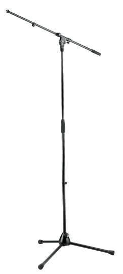210/2 Mikrofonstativ klassisches Standardmodell schwarz