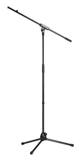 21070 Mikrofonstativ Ganz-Metall-Stativ schwarz