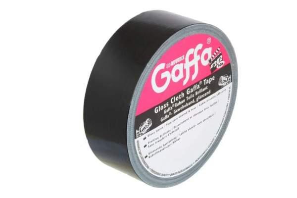 5807 BLK Gaffer Klebeband schwarz 50 mm x 50m