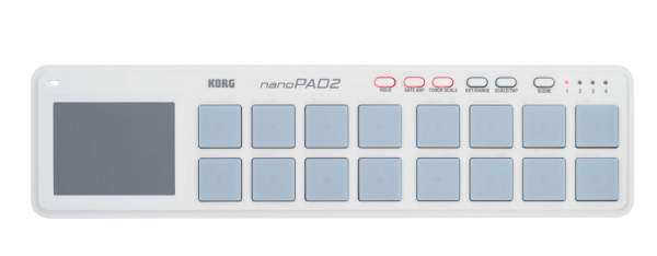nanoPAD2, 16 Pads, weiß