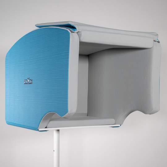 Isovox Mobile Vocal Booth V2 Isolierte Gesangskabine - Blau