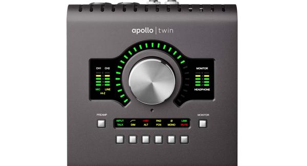 Apollo Twin MKII Duo Heritage 2x6 Desktop Thunderbolt Audio Interface