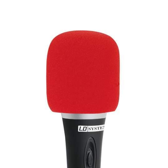 D 913 RED Windschutz für Mikrofone rot