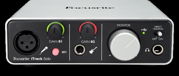iTrack Solo Lightning 2-Kanal USB Audiointerface