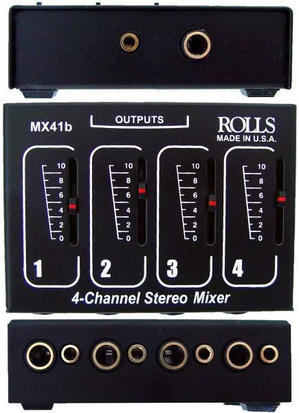 MX 41b 4-Kanal Stereo Mini-Mixer